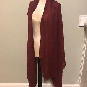 a4f85d48cc2fe frette italy Accessories - Fretted Italy Silk Cashmere Scarf Wrap Shawl